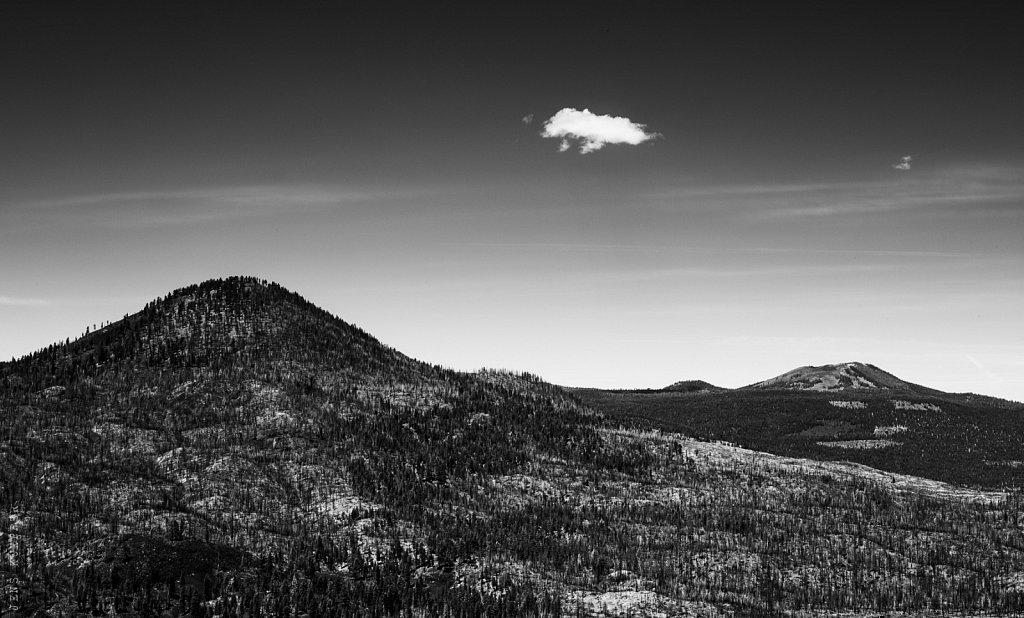 Cloud – Hat Creek Rim –California, 2013