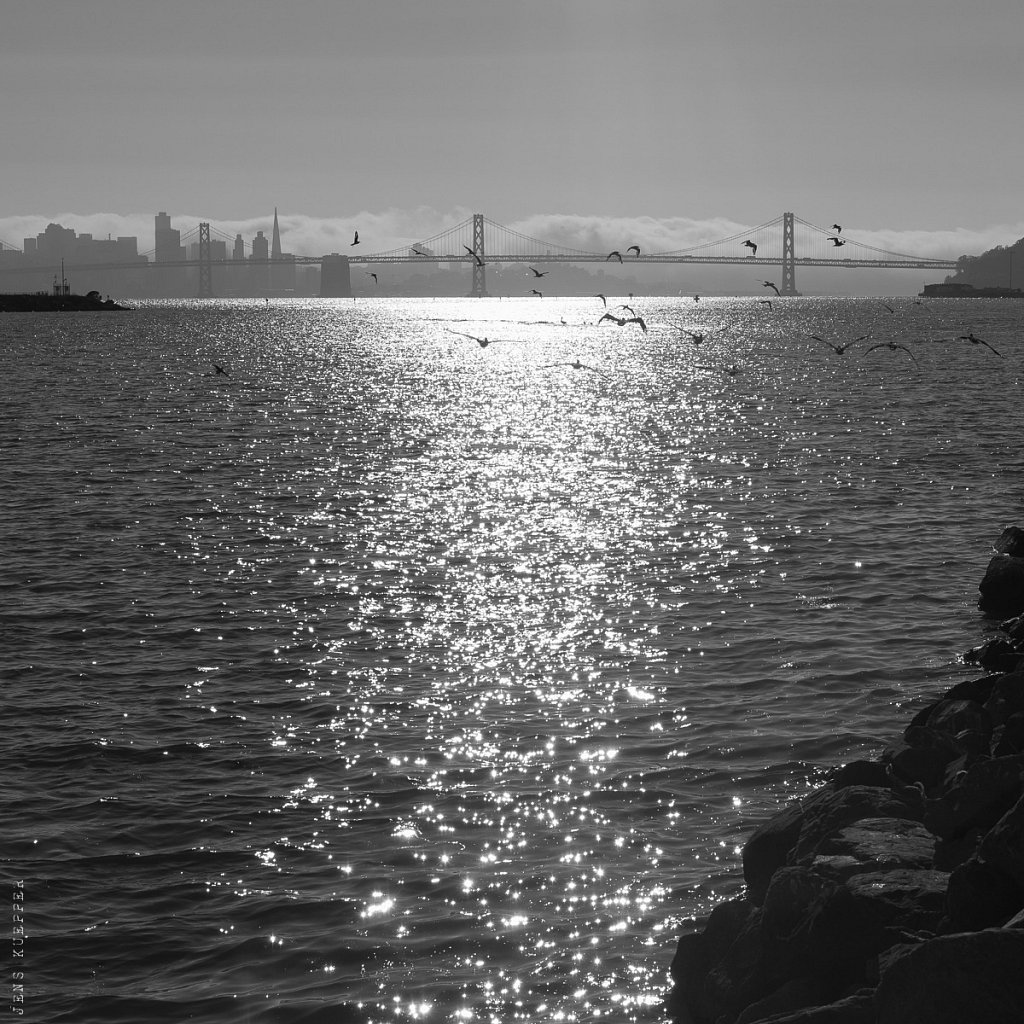 View of San Francisco from Oakland – USA, 2013