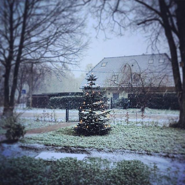 Vorfreude auf Heiligabend und auf Schnee